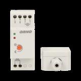 LED SCHEMERSCHAKELAAR DIN-RAIL MONTAGEBOX IP20/IP65 230V_