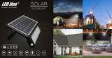 LED SOLAR VERSTRALER MET BEWEGINGSMELDER 10W 1080LM 4000K_