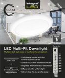 LED DOWNLIGHT MULTI-FIT OPBOUW DIM 18W 1530LM 4000K_