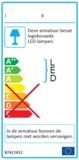 LED PLAFONDLAMP IP54 MET HF SENSOR 230V 16W 1300LM 3000K _