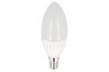 LED KAARSLAMP C37 230V 9W=75W 992LM 2700K WARM WIT _