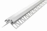 ALUMINIUM HOEKPROFIEL PLASTER LED STRIPS TOT 12-MM_