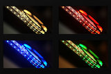 RGB+WW LED STRIP 60L/M. 24V/DC 19,2W/M. RGB + 2700K _