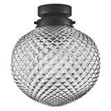 LEDVANCE 1906 CARVED PINEAPPLE SMOKE GLASS PLAFONDLAMP_