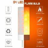 LED VUUR LAMP VLAMSIMULATIE FLAME G4 0,5W 1300K_