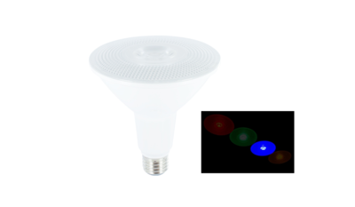 LED PAR38 SPOT IP65 36° 230V E27 15W BLAUW