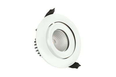 LED DOWNLIGHT DIMBAAR IP65 FIRE RATED 230V 9W 650LM 3000K