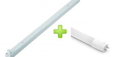 LED TL ARMATUUR IP20 1 X 120-CM + LED TL LAMP 4100K