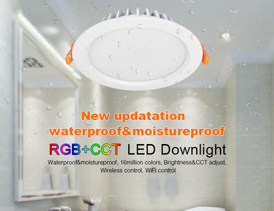LED DOWNLIGHT RGB+CCT SMART LIGHT IP54 230V 15W 1200LM