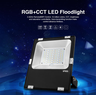 LED VERSTRALER RGB+CCT SMART LIGHT IP65 230V 30W 2800LM