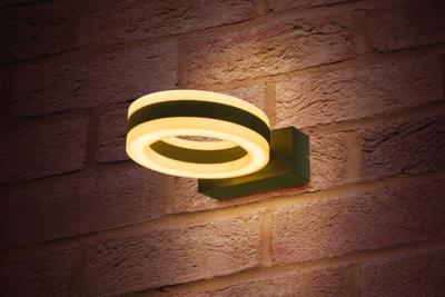 LED TUINLAMP WANDLAMP CICLO IP54 11W 3000K