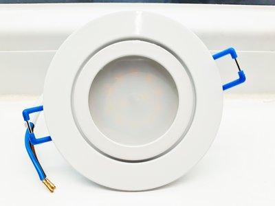 LED INBOUWSPOT IP44 ROND WIT 120° 5W=50W 420LM 4000K