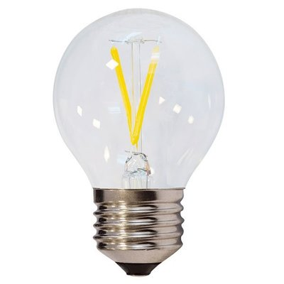 LED FILAMENT GLOEILAMP G45 230V E27 2W 200LM 2800K