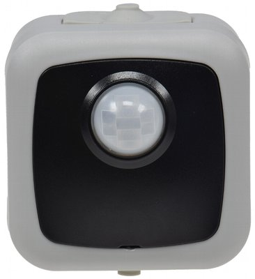 LED BEWEGINGSMELDER IP44 120° 230V 2W TOT 100W