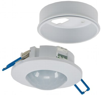 LED BEWEGINGSMELDER PLAFOND INBOUW/OPBOUW 360° 1-400W