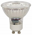 LED SPOT GLASS 36° 230V 2W=15W 100LM 3000K
