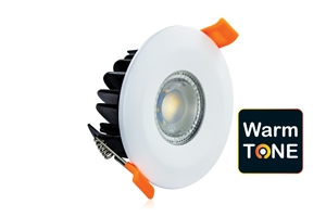 LED DOWNLIGHT WARMTONE 2200-3000K IP65 FIRE RATED 6W 450LM