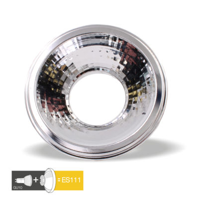 ES111 ADAPTER REFLECTOR VOOR 50MM GU10 LED SPOTS