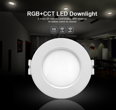 LED DOWNLIGHT RGB+CCT SMART LIGHT 230V 6W 600LM