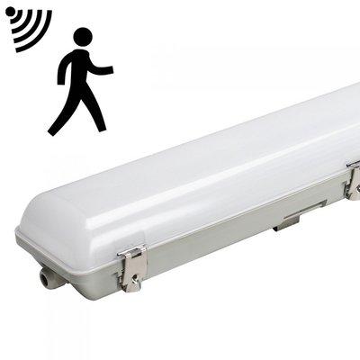 LED BATTEN TOUGH SHELL SENSOR 120CM IP65 IK08 45W 5400LM 4000K