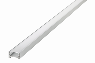 ALUMINIUM PROFIEL SMAL LED STRIPS TOT 12-MM