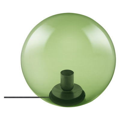 LEDVANCE 1906 BUBBLE TABLE Ø250 GREEN GLASS