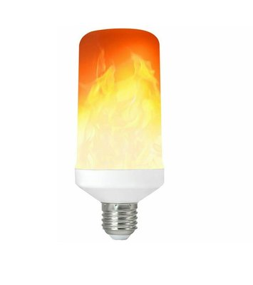 LED VUUR LAMP VUURSIMULATIE FLAME E27 5W 1300K