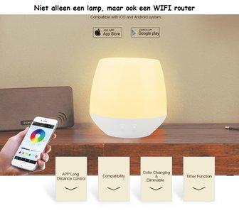 WIFI BOX LAMP VOOR CCT RGB+CCT STRIPS, SPOTS, LAMPEN EN VERSTRALERS