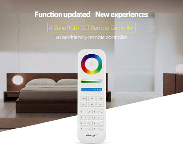LED RGB+CCT 8-ZONE REMOTE CONTROLLER 2.4GHz