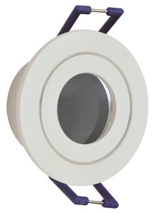 INBOUWARMATUUR ROND WIT IP44 MR11 35-MM SPOTS