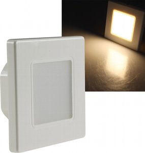 LED TRAPVERLICHTING WANDINBOUW 230V 2,5W WARM WIT