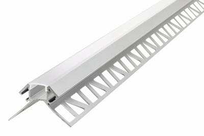 ALUMINIUM HOEKPROFIEL PLASTER LED STRIPS TOT 12-MM