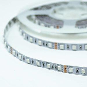 RGB LED STRIP 60L/M. 24V/DC 14,4W/M. RGB MULTICOLOR