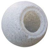 TUINBOL BALL-L Ø400 MET GRONDPIN IP65 230V E27 _
