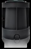 GRONDSPOT ZWART IP67 VIERKANT 230V GU10 MAX. 50W_