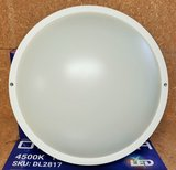 LED PLAFONDLAMP IP65 MET 3-UREN NOODLAMP 13W 1050LM 4500K _
