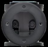 GRONDSPOT ZWART IP67 ROND LAAG 230V MAX. 50W _