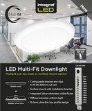 LED DOWNLIGHT MULTI-FIT INBOUW 65-205MM 18W 1440LM 3000K_