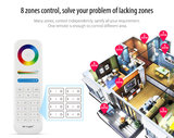 LED STRIP 8-ZONE REMOTE CONTROLLER 12-24V 2.4GHz _