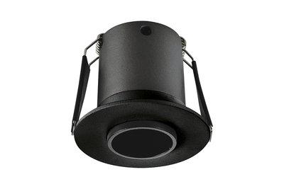 LUX MINI LED DOWNLIGHT ZWART 15° 230V 3,3W 145LM 3000K