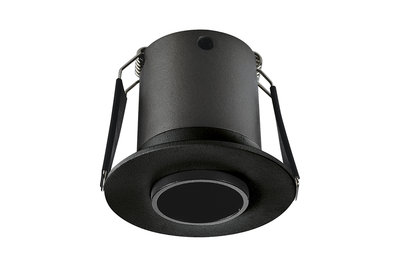 LUX MINI LED DOWNLIGHT ZWART 15° 230V 3,3W 160LM 4000K