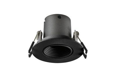 LUX MINI LED DOWNLIGHT ZWART 15° 230V 3,3W 155LM 3000K