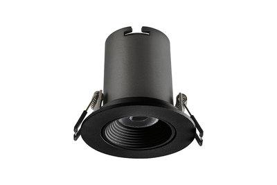 LUX HI-BRITE LED DOWNLIGHT ZWART DIM 230V 9W 715LM 3000K