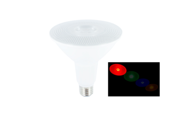 LED PAR38 SPOT IP65 36° 230V E27 15W ROOD