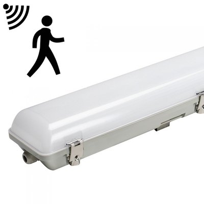 LED BATTEN TOUGH SHELL SENSOR 120CM IP65 IK08 45W 5400LM 4000K