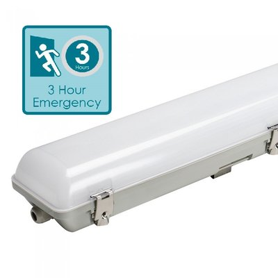 LED BATTEN TOUGH SHELL NOODVERLICHTING 120CM IP65 IK08 45W 5400LM 4000K