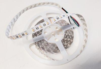 RGB+WW LED STRIP 60L/M. 24V/DC 19,2W/M. RGB + 2700K