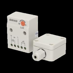 LED SCHEMERSCHAKELAAR MONTAGEBOX IP20/IP65 230V 10- TOT 2.300W