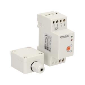 LED SCHEMERSCHAKELAAR DIN-RAIL MONTAGEBOX IP20/IP65 230V