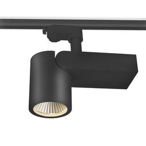 LED 3-FASE RAILSPOT NEXTRACK ZWART CRI90 230V 28W 2100LM